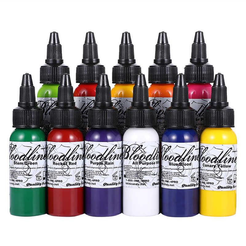 Как выбрать качественную краску для тату